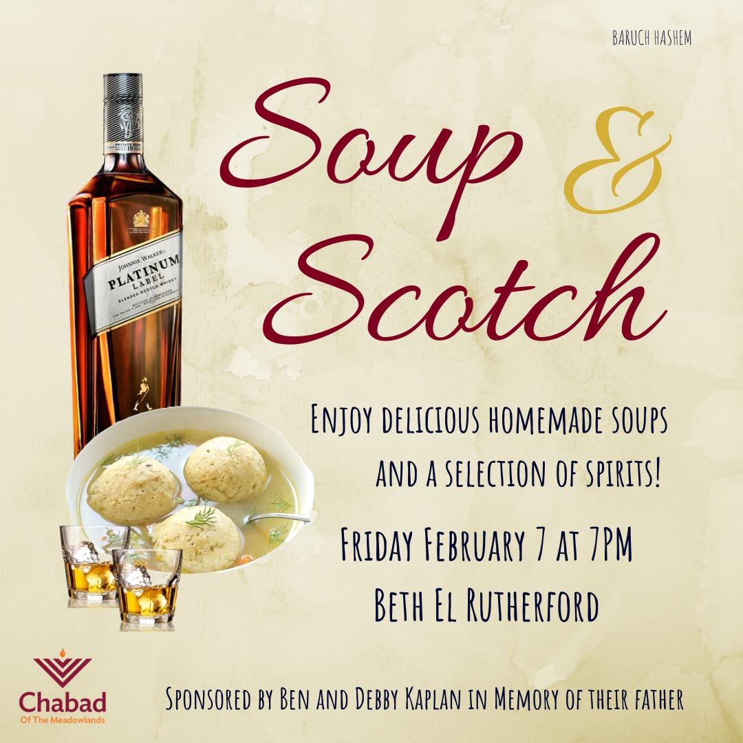 Soup and Scotch